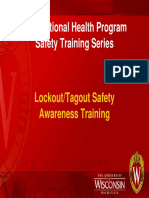 Lockout-Tagout Safety Awareness - Online 2009