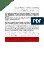 PLDT VS NLRC