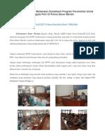 BTPN Lhokseumawe Melakukan Sosialisasi Program Perumahan Untuk Anggota Polri Di Polres Bener Meriah