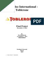 Kraft Foods - Toblerone
