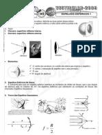 Física - Pré-Vestibular Impacto - Óptica Geométrica - Espelhos Esféricos II