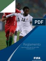 Reglamento Copa Mundial FIFA Sub 20 Colombia 2011