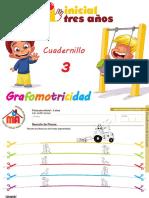 Grafomotricidad Cuadernillo 3