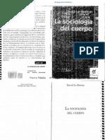 Le Breton La Sociologa Del Cuerpo
