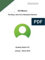 GVI Pez Maya Quarterly Report January- March 2010