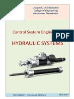 Control. Hydraulic system [KOSAR].pdf