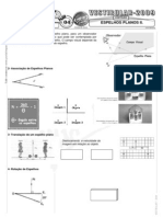 Física - Pré-Vestibular Impacto - Óptica Geométrica - Espelhos Planos II