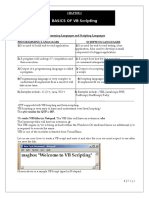 VB Scripting.doc