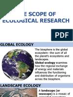 Ecology Scopes