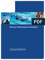 Director Performance Evaluation