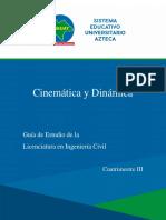 ING CIVIL , 3ro, Cinemática y Dinámica