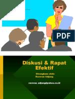 Teknik Rapat & Diskusi