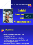 Chapter 1, Initial Assessment and Management