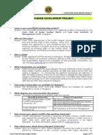 EASB Scholarship Program (SPM & STPM)