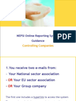 Nepsi Online Reporting System Guidance - Controlling Companies Final