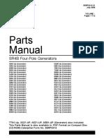 Generator Parts Manual SERP2414