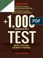 Dlscrib.com Libro Test Leyes 39 y 40 2015 Procedimiento Administrativo Comun 2017 Muestra