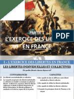 Exercice Des Libertes en France 2016