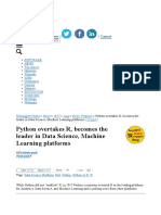 python vs R in Data and Machine learning.pdf
