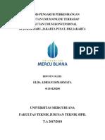 Analisis Pengaruh Perkembangan Transportasi Online Terhadap Transportasi Konvensional di DKI Jakarta