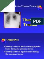 Chapter 4, Thoracic Trauma