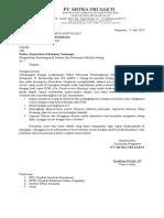 Surat Pemberitahuan Sekolah Petang'
