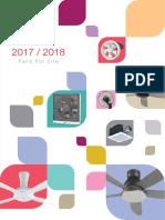 KDK 2018 Fan Cataloge