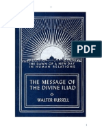 Walter Russell - The Message of the Divine Iliad (Vol. 1)