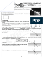 Física - Pré-Vestibular Impacto - Óptica Geométrica - Refração da Luz I