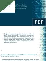 Permanent Magnet Motor Market Forecast, 2016-2024