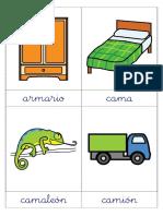 8ª Quincena - Tarjetas Del Fonema m