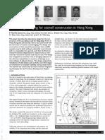 Neville-Jones & Swann et al- Minimizing Dredging for Seawall Construction in Hong Kong