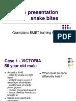 Snake Bite Case Series Dec 2012