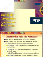 management system using information