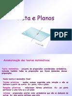 PPT Retas e Planos
