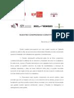 Nuestro Compromiso Constitucional (7 Asociaciones)