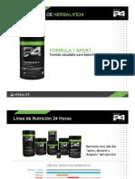 Detalles F1 Sport Crema Vainilla