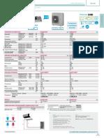 Catalogo Daikin ADEQS100C