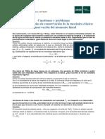 Problemas Resueltos Tema 2b Conservación Del Monento Lineal