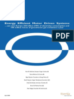 Energy Efficient Motor Driven Systems