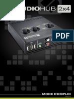 Audiohub 2x4 Mode D'emploi Fr