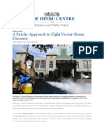 A Patchy Approach to Fight Vector-Borne Diseases