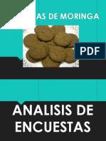 galletas de Moringa