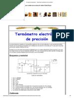 Cerveza de Argentina - Termómetro Electrónico de Precisión