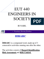 HIRARC and Safety Culture