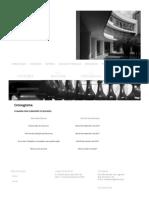 Cronograma - 5º Seminário Ibero-Americano Arquitetura e Documentação