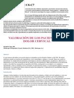 Protrusión Discal C6-C7