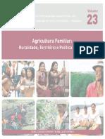 Agricultura Familiar Ruralidade, Território e Política Pública
