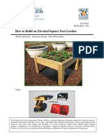 010 How to Build an Elevated Square Foot Garden
