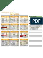 Calendari d'Activitats BAD Curs 2017-2018 - Year
